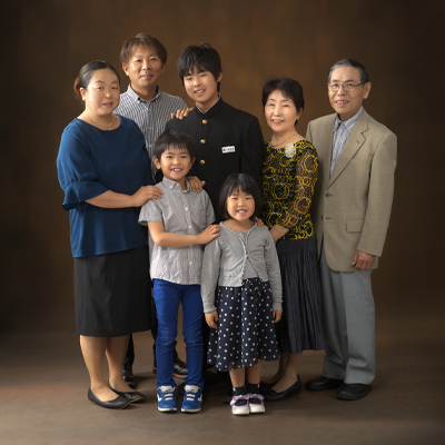 大家族写真