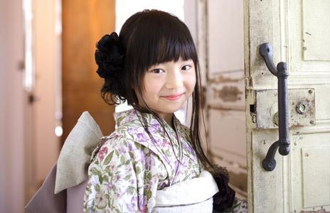 age 7 Shichi-Go-San Girl